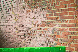 Обследование подпорных стен